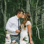 Boho Wedding Inspiration en el exuberante Little Cottonwood Canyon