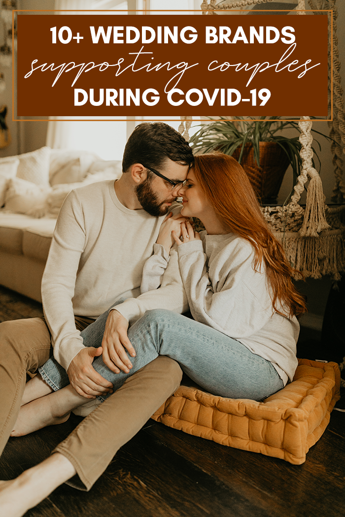 las marcas de bodas apoyan a las parejas durante COVID-19