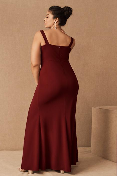 Vestido BHLDN Adena Rojo