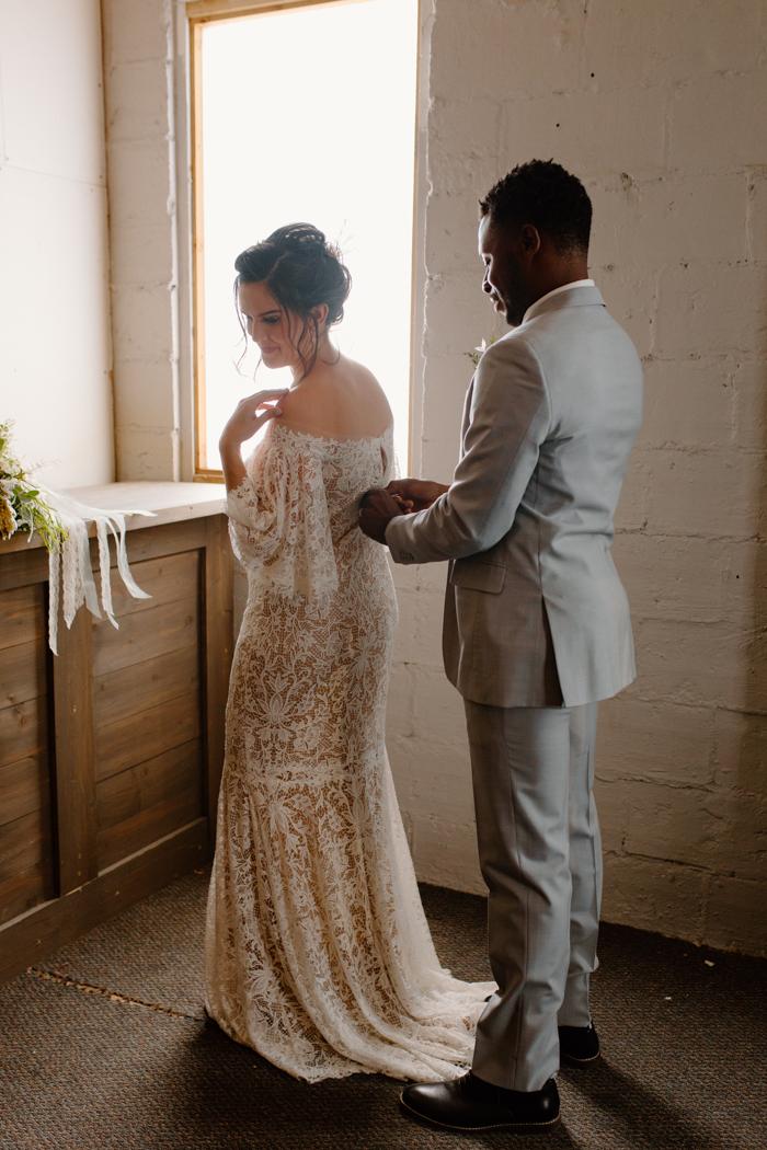Tiempo de preparación para una gran boda falsa