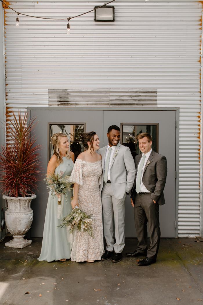 Gran fiesta de boda falsa