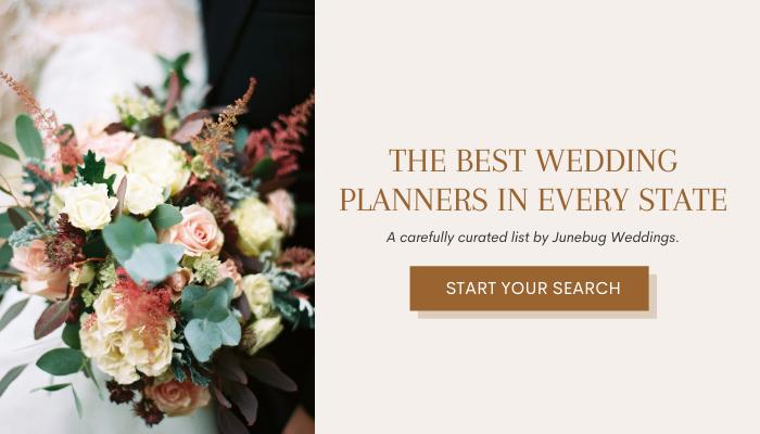 Anuncio de planificadores con flores