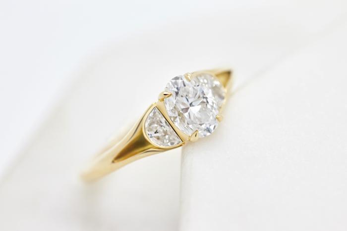 Diamante cultivado en el laboratorio de Taylor y Hart