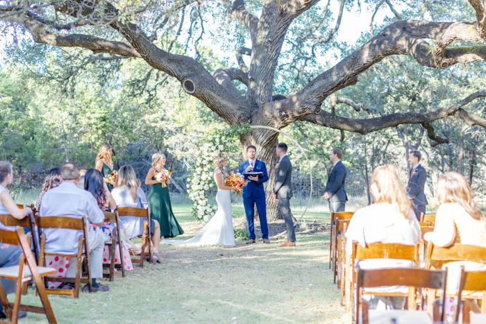 Ceremonia temática del campamento de fotografía de Ally Fraustro