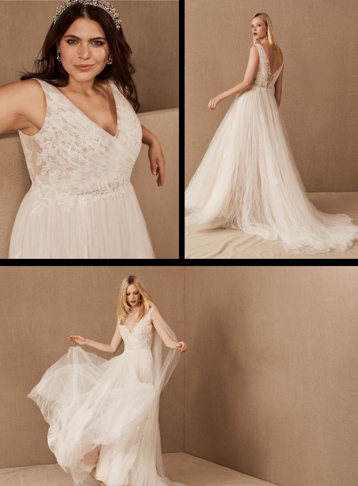 Gráfico del vestido Malone