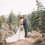 Inspiración para bodas en los Alpes suizos de la gran boda falsa