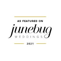 insignia grande con bodas de Junebug