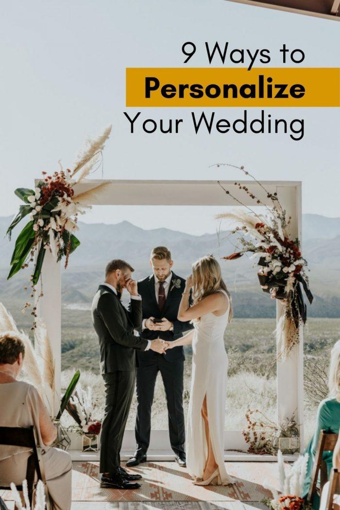 9 formas de personalizar tu boda