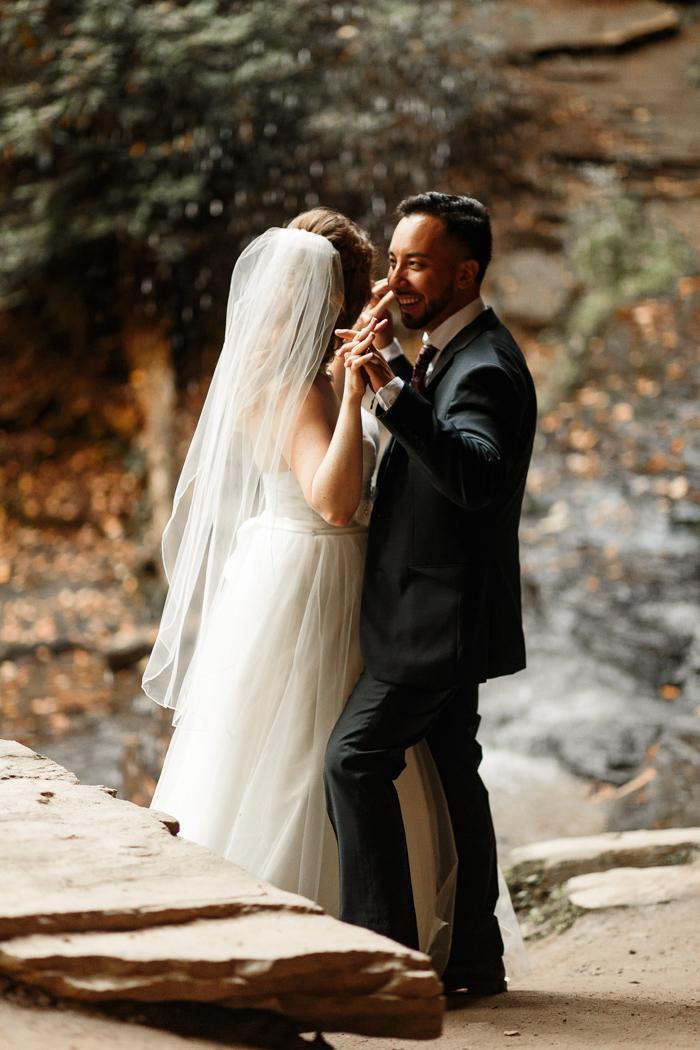 Primer baile de bodas de Moore's Cove Falls