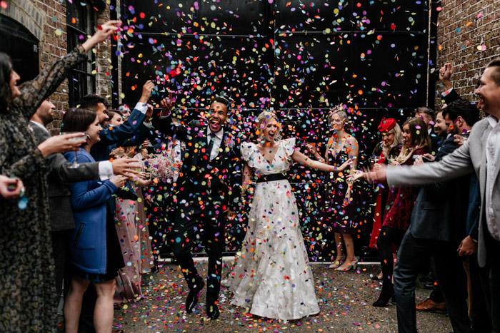 boda industrial de lujo