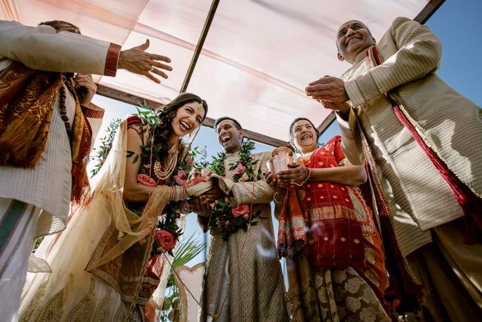 asistir a una boda india
