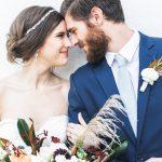 Esta inspiración para bodas en Blue Lagoon trajo el ambiente islandés a Atlanta