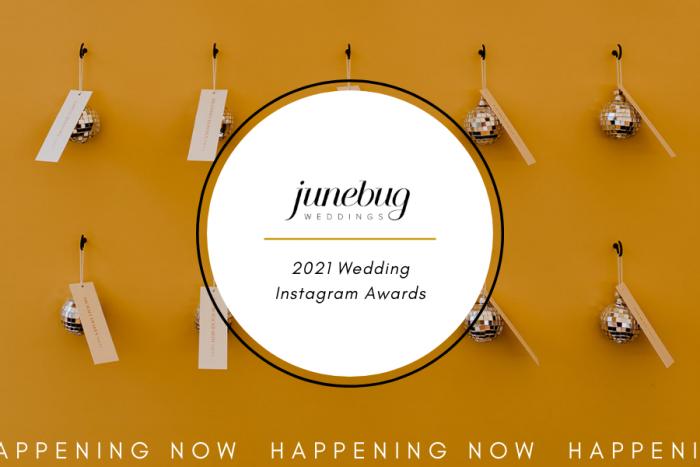 Banner de anuncio de premios de Instagram