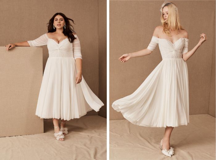Mattea Gown plus y modelos regulares