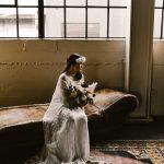 Inspiración para la boda de Castaway Portland en tonos otoñales neutros