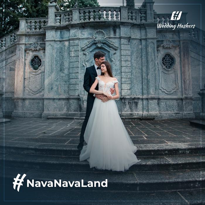 hashtag de boda creativo hash de boda gráfico
